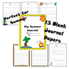 free summer journal printable pack and bucket list u2013 plants and