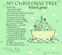 Halloween Poem Funny Christmas Tree Poems U2013 Happy Holidays