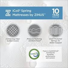 zinus mattresses and bed frames with reviews 5 best rated mattresses