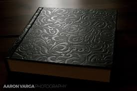 black leather photo album black leather oglebay resort wedding album