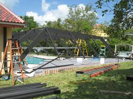 screened pool and patio enclosures