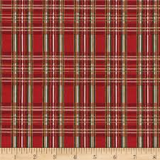 plaid christmas timeless treasures country christmas metallic plaid discount
