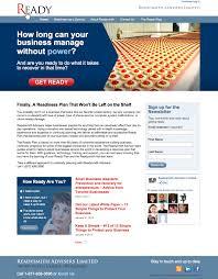 readysmith website wendy clark design