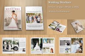 wedding brochure template wedding photography brochure