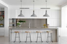 Coastal Kitchen Designs by 30 Gorgeous Grey And White Kitchens That Get Their Mix Right