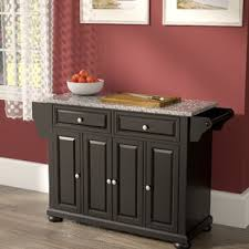 kitchen island with granite top kitchen islands birch