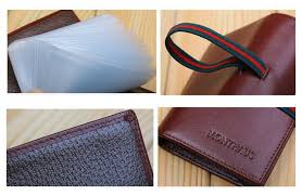 Business Card Case For Women New Genuine Italian Leather Business Card Credit Card Holder Case