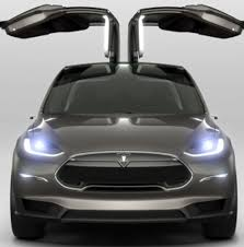 Tesla Minivan Tesla Goes Back To The Future With Model X Crossover Suv