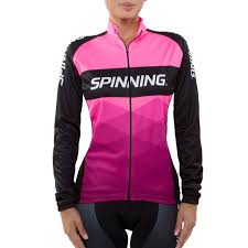 neon cycling jacket spinning orion women u0027s cycling jacket pink spinning us en