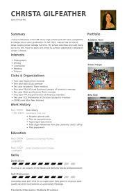 secretary resume samples visualcv resume samples database
