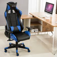 Recliner Computer Chair Sports Racing Gaming Chair Executive Computer Lift Recliner Faux