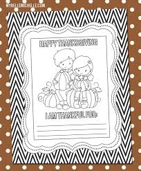 my thanksgiving coloring pages free printables