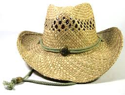 wholesale cowboy hats made with straw toasted