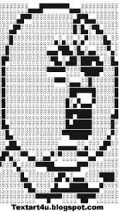 No Meme Face - y u no meme ascii text art cool ascii text art 4 u