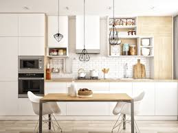 Kitchen Design Boards Design Simple Kitchen White And Wood Cabinet Subway Tile
