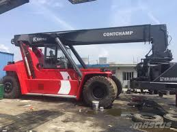 kalmar drf450 60s5 reachstackers year of manufacture 2013