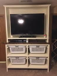 bedroom entertainment center diy dual purpose bedroom entertainment center tv stand hometalk