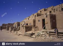 geography travel usa new mexico taos buildings pueblo