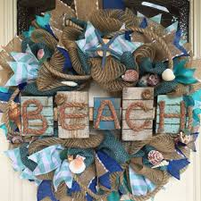 shop coastal wreath on wanelo