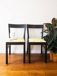 How To Reupholster Dining Chair How To Reupholster And Renovate Old Dining Chairs Shelterness