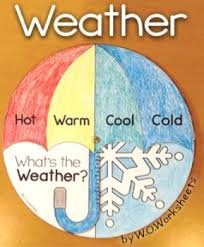 weather pack includes weather wheel art craft weather chart for