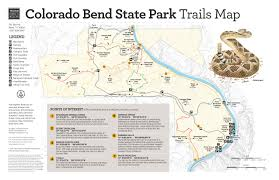Colorado State Map by Eating With The Deer At Colorado Bend State Park