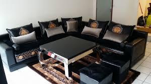 canapé orientale salon accueil
