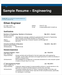 resume format for engineering freshers pdf merge and split basic 54 engineering resume templates free premium templates