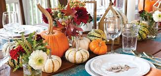 Fall Table Settings Autumn Table Setting Celebrate Magazine
