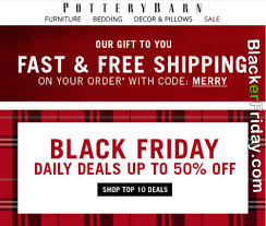 pottery barn black friday 2017 sale deals cyber monday 2017