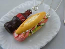 food earrings food inspired jewelry neverchill