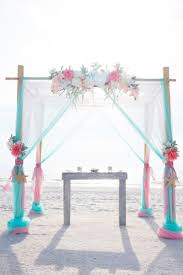 Wedding Arches Beach Best 25 Teal Beach Weddings Ideas On Pinterest Turquoise Beach