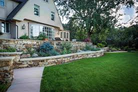 hand stack retaining walls colorado quarry denver