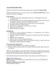 Sample Resume For Accounts Payable Specialist by Account Payable Resume Template Download Account Payable Clerk