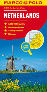 Map Netherlands Netherlands Marco Polo Map Marco Polo Maps Marco Polo Travel