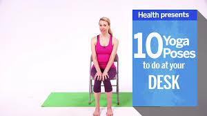 Yoga Poses You Can Do At Your Desk How Chair Yoga Can Help Your Arthritis Health