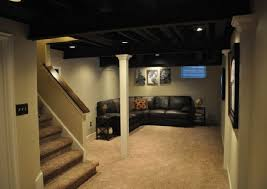 Unfinished Basement Ideas On A Budget Ideas For Unfinished Basement Unfinished Laundry Room Ideas With