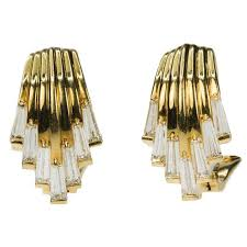 diamond earrings for sale 18 karat waterfall diamond earrings for sale at 1stdibs