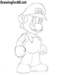 draw mario drawingforall net