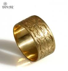 wedding engravings 14k solid yellow gold band 10mm wide wedding band deco