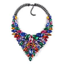 coloured statement necklace images Colorful statement necklace jewelry statement necklaces green jpg