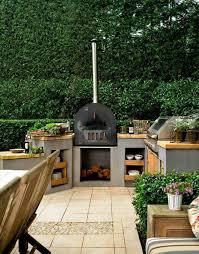 cuisine exterieure beton 70 ความค ดสำหร บการทำงานและความงามห องคร วฤด ร อนกลางแจ ง