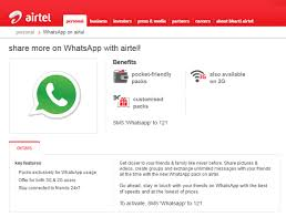 whatsapp free for android airtel free use whatsapp daily without data pack charges in