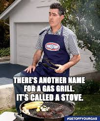 Bbq Meme - it s time to get off your gas with kingsford and grill the guy