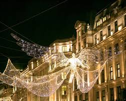 regent street christmas lights in westminster