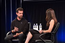 square founder jack dorsey talks bitcoin and says blockchain is