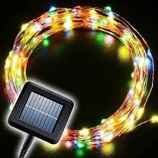 solar power led lights 100 bulb string cheap rgb top 10m 100 led solar string fairy lights premium quality