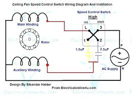 fan motor speed control switch ceiling fan speed control switch 5 wire ceiling fan capacitor wiring