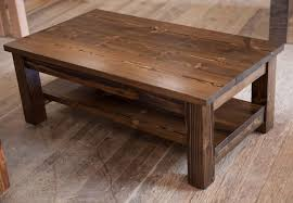 Wood Table Plans Free by Furniture Build Your Rustic Wooden Coffee Table Using Rustic