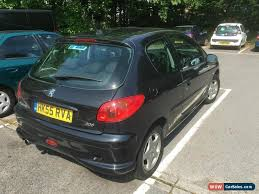 black peugeot for sale 2006 peugeot 206 sport for sale in united kingdom